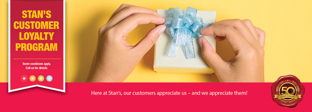 Stan's Customer Loyalty Program